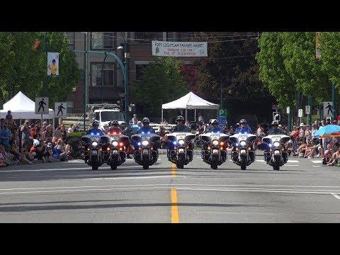 Rotary May Day Parade Port Coquitlam BC Canada 2019 4K