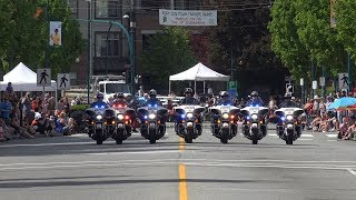 Rotary May Day Parade Port Coquitlam BC Canada 2019 4K
