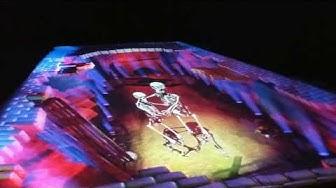 'Skeleton Dance's by Skullmapping (Lumo Light Festival - Oulu, Finland)