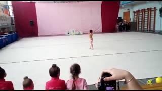 Открытое первенство Дзержинска 3 юношеский разряд художественная гимнастика