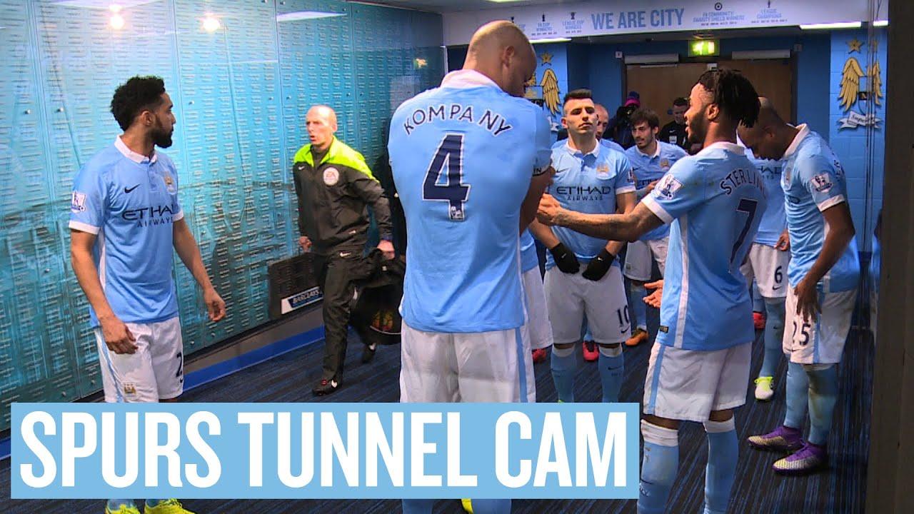 Man City Tunnel Cam