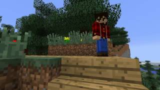 Minecraft сериал 'Проклятый лес' 1 серия