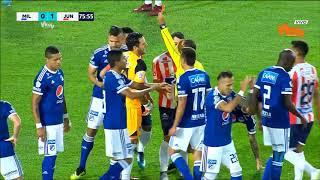 Millonarios 1-1 Junior | Liga Aguila 2018-II Fecha 9