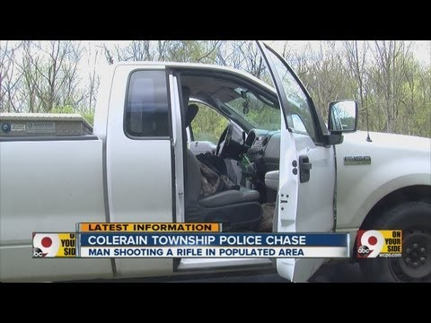 Update on Colerain Township chase