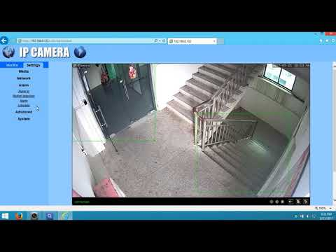 Latest Camhi Camera PC IE set up video - YouTube
