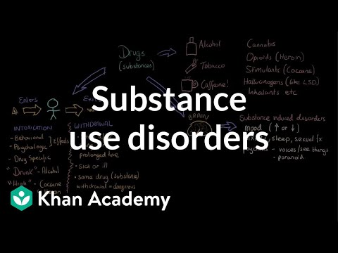 Substance use disorders | Processing the Environment | MCAT | Khan Academy