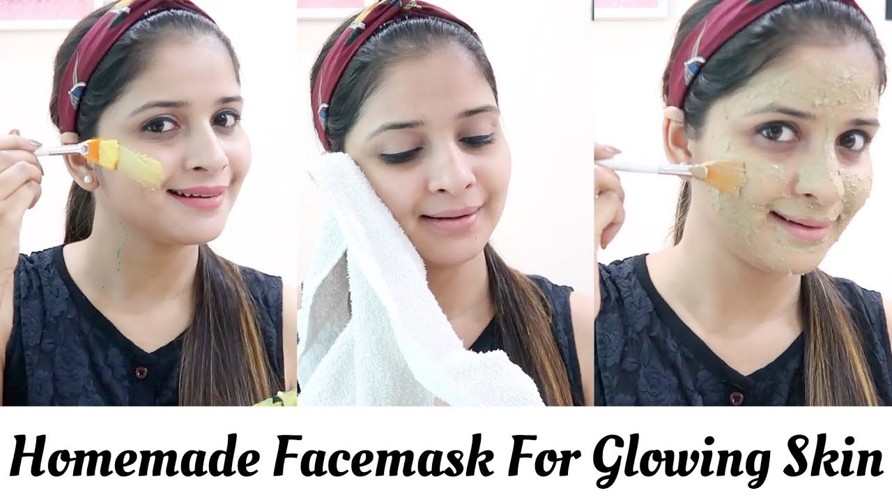 Get Glowing Skin With Homemade Face Mask || Besan Face Masks || Be That Diva