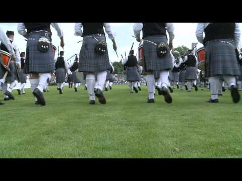 Sounds and sights from the 2012 World Pipe Band Championships