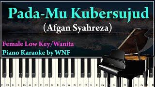 AFGAN - Pada-Mu Kubersujud Piano Karaoke Versi Alto