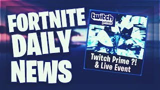 Fortnite Daily News *NEUES* TWITCH PRIME PACK? & LIVE EVENT (20 Januar 2019)
