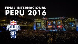 Repeat youtube video Final Internacional Perú 2016 (Completo) - Red Bull Batalla de los Gallos