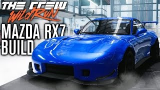 MAZDA RX7 PERF BUILD & FREEDRIVE STUNTS! | The Crew Wild Run Gameplay w/ The Nobeds