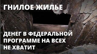 Блохи, дыры в полу и крыше: как живут в Елшанке