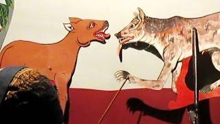Le Loup et Le Chien - Les Fables de Jean de La Fontaine - Animal Puppet [HD]