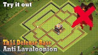COC Th11 Defense base | Anti Air and Bowler Defense base | Unbeatable Th11 Base | New TH11 Base