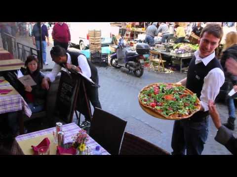 Rome walk lunch Trevi dinner 2012