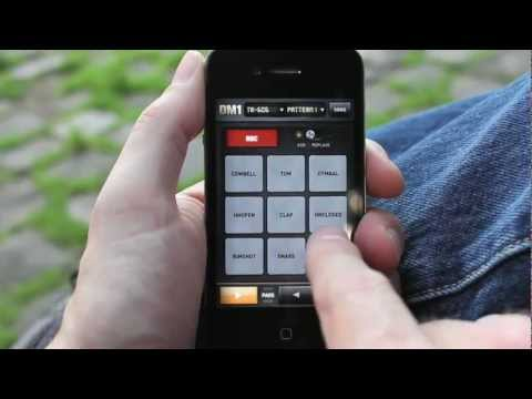 DM1 The Drum Machine for iPhone by Fingerlab