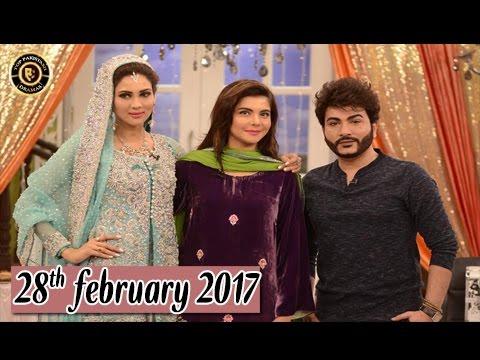 Good Morning Pakistan - Guest: Akif Ilyas & Fiza Ali - 28th February 2017 - Top Pakistani show