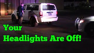 Rexburg Idaho Police - Three Traffic Stops