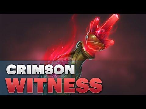 Dota 2 #TI8 - Treasure of the Crimson Witness 2018
