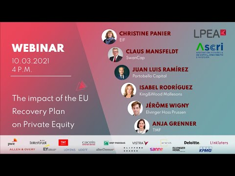 The impact of the EU Recovery Plan on Private Equity