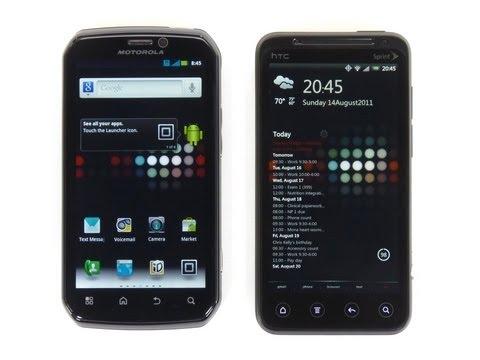 Motorola Photon 4G vs HTC EVO 3D