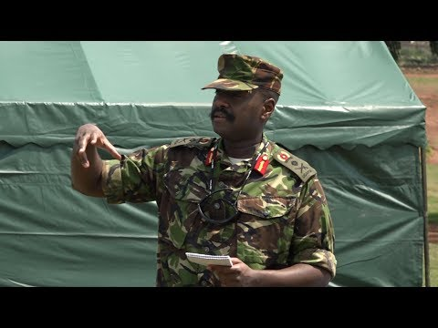 LT GEN MUHOOZI KINERUGABA IS A MAN WHO LOVES TO SERVE IN THE FORCES.