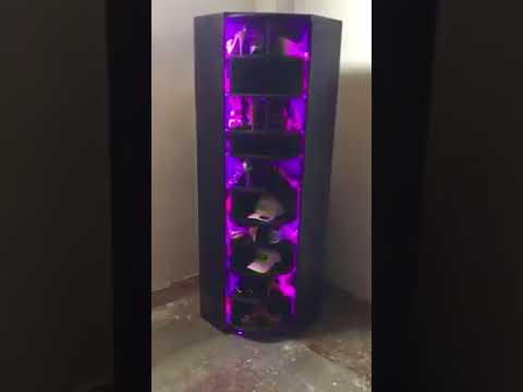 Zapatera giratoria con luces led sonrisas eventos youtube - Zapatera giratoria ...