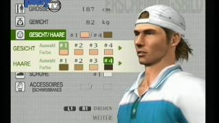 Play the Playstation 06/2004 - Smash Court Tennis Pro Tournament 2