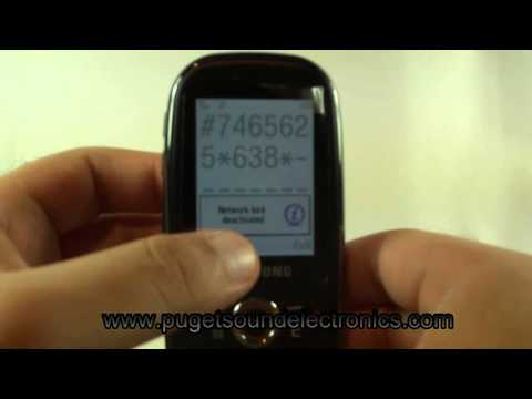 How to unlock T-Mobile Samsung SGH-T369