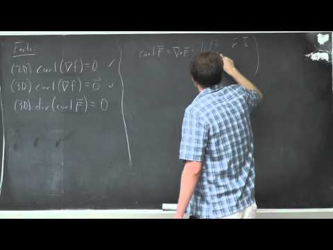 Multivariable Calculus: Lecture 30 - More on Div and Curl