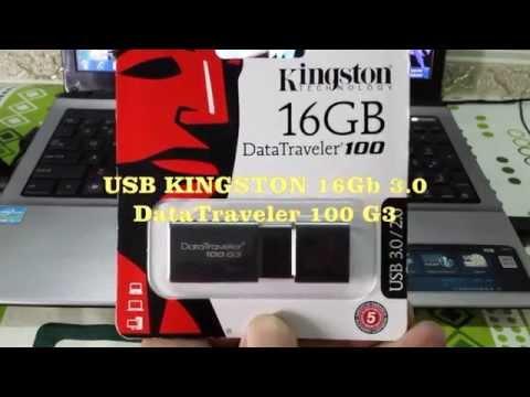 USB KINGSTON DATATRAVELER 100 G3 16GB 3.0 - Th Nh Minh Hng .com