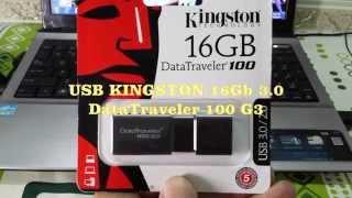 USB KINGSTON DATATRAVELER 100 G3 16GB 3.0 - Thẻ Nhớ Minh Hằng .com