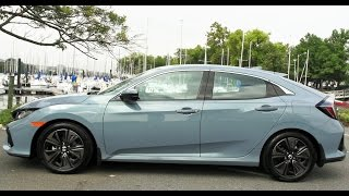 2017 Honda Civic Hatchback Test Drive & Review