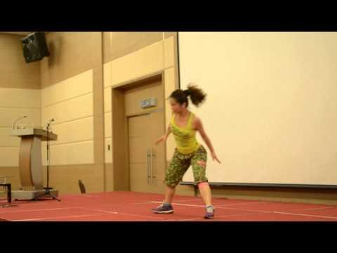 SunMed World Diabetes Day Zumba Dance steps