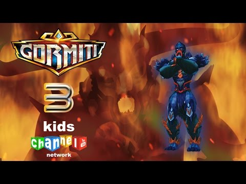 Gormiti - Episode 3 - Animated Series | Kids Channel Network
