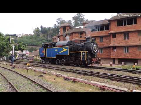 Nilgiri Mountain Railway - Hill train to Ooty | Toy Train | Steam locomotive | UNESCO heritage site