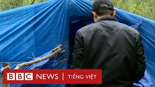 Người Việt di cư dựng trại tại Pháp, đợi đi lậu qua Anh - BBC News Tiếng Việt