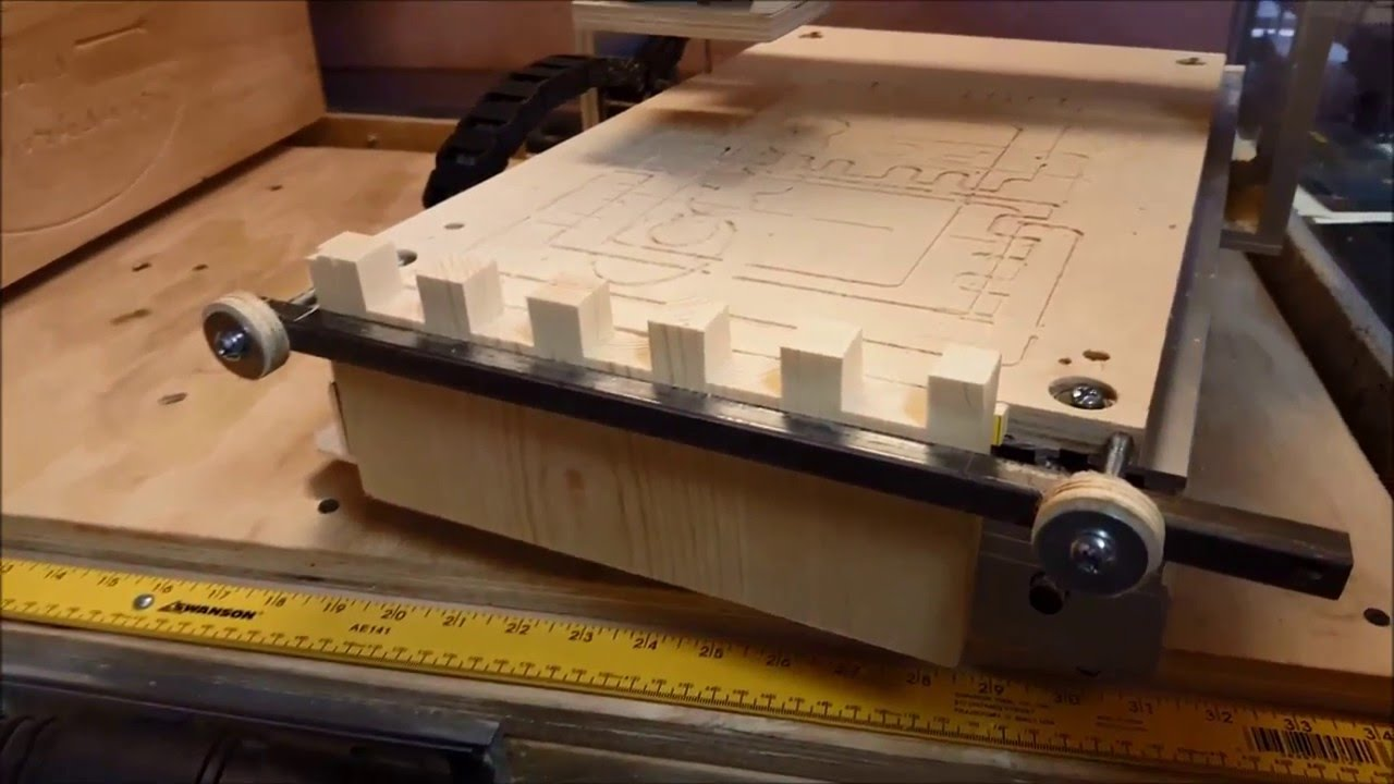Perfect Box Joints - On A Small CNC - YouTube