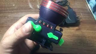 Đèn Đội Đầu Siêu Sáng Tích Hợp Cổng Sạc USB Hiển Thị % Pin SG-616