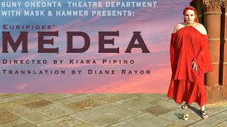 SUNY Oneonta Theatre Deparment And Mask & Hammer Presents: Medea