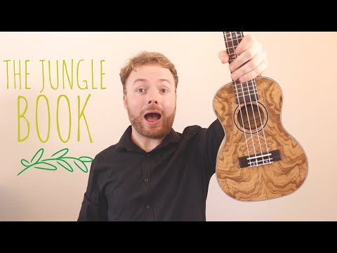 Bare Necessities - The Jungle Book (EASY UKULELE TUTORIAL)
