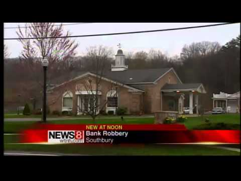 Bank robbery in Southbury