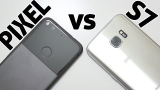 Google Pixel vs Galaxy S7 Camera Test + Comparison REVIEW