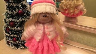 Вязаная кукла готова 😺