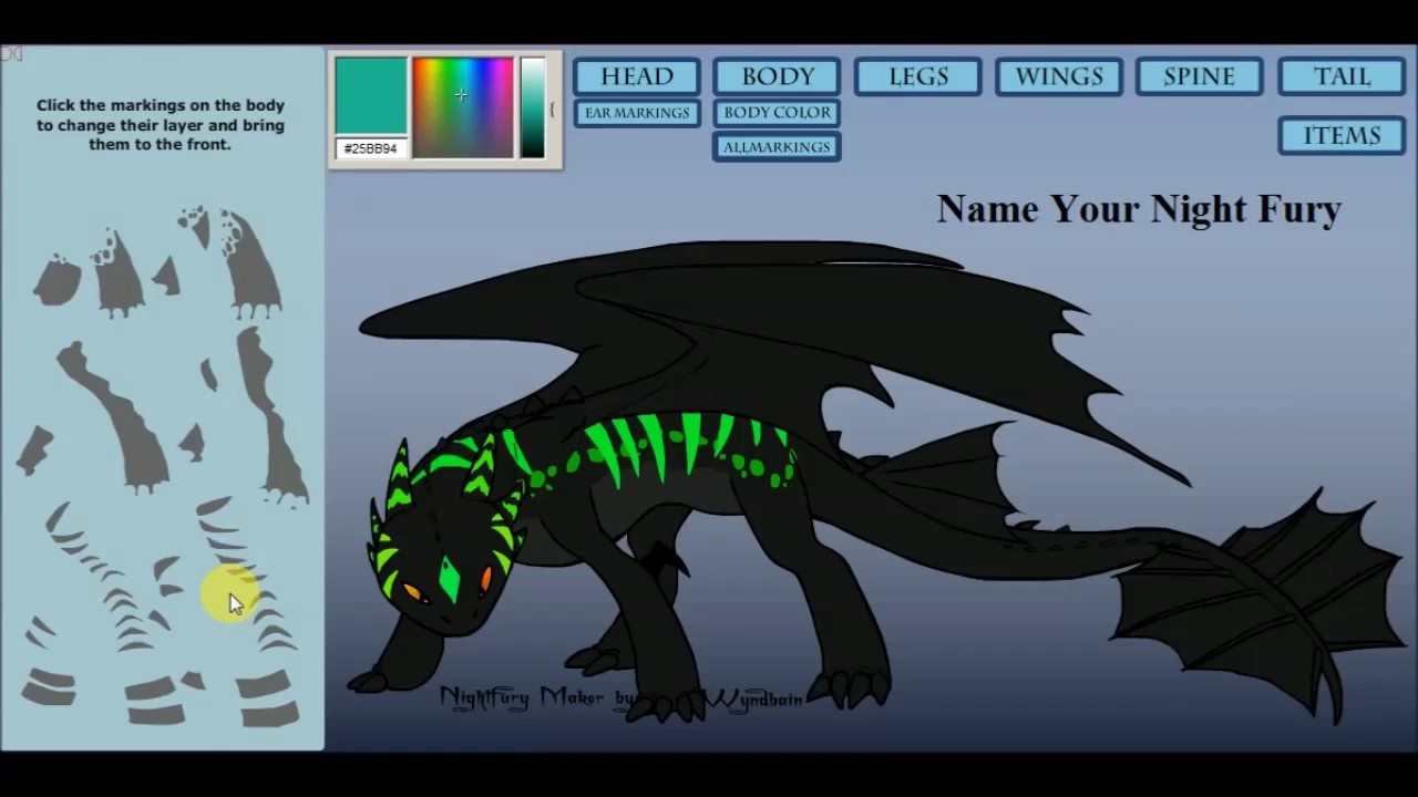 Eloise fan youtube dragon efyd gaming creer ton furie - Furie nocturne dessin ...
