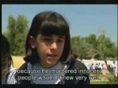 Palestinian girl strong as a mountain