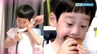 Seoeon's precious chocolate bread disappeared! [The Return of Superman / 2017.10.22]