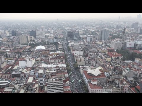 Team Mexico City's winning concept for Audi Urban Future Award 2014