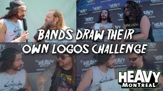 Metal Bands Draw Their Own Logos